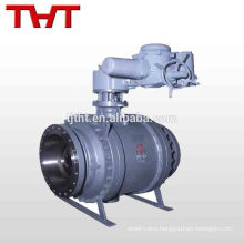 cast iron motorized discharge acid resistant ball valve