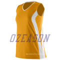 Ozeason Best Dye Sublimated Sleeveless Singlet Volleyball Jersey for Team