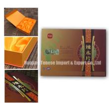 Caixa de presente de papelão para embalagens cosméticas, caixa de comida
