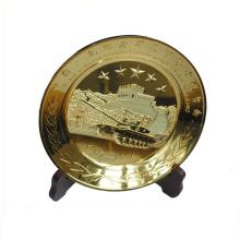 Souvenir use good quality dubai souvenir metal plate