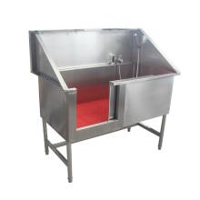 Pet equipment pet stainless steel pet spa bathtubs supplies dog grooming tub