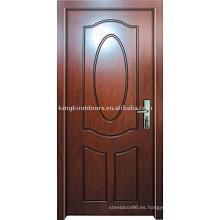 Diseño simple puerta de madera sólida JKD-111 con precio competitivo y caliente venta