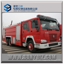 Sinotruk HOWO 6X4 City Water Tank Fire Fighting Truck