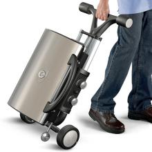 Parrilla portátil plegable del Bbq del gas del estilo del equipaje