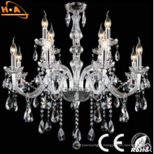High Quality Indoor Candle Shaped Decorative Crystal Lamp