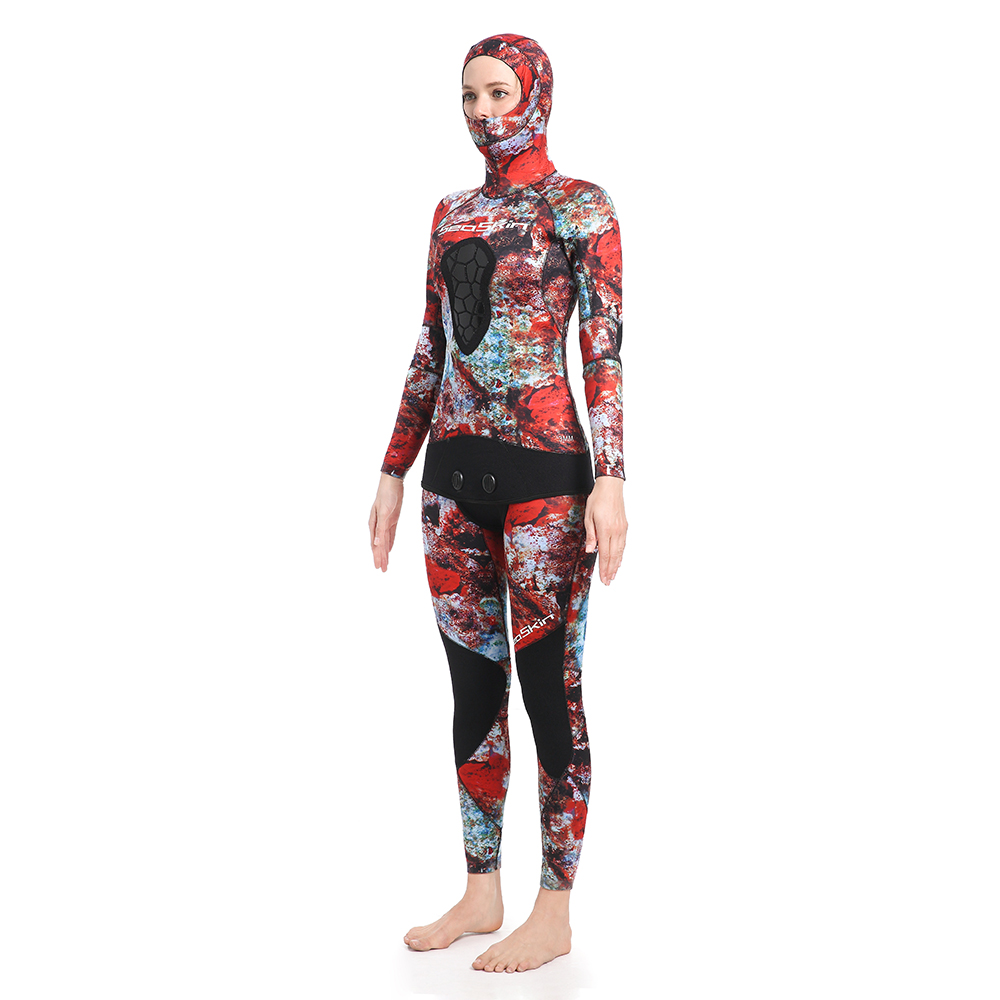 Two Pieces Spearfishing Wetsuit