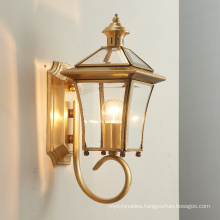 modern decorative brass sconce hotel house mounted indoor led wall light