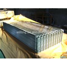 Горячий оцинкованный цинковый алюминиевый гофрированный стальной лист