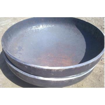 O aço de carbono + placa de revestimento de aço inoxidável do revestimento da explosão ditou as cabeças principais do tanque, cabeça elíptica