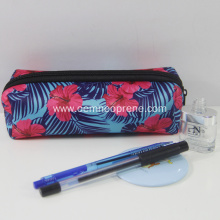 Zipper personalized pattern printed neoprene pencil case