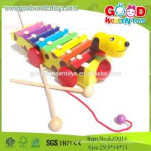 Brinquedos musicais populares de brinquedos musicais, Design novo cão 8 Xilofone, brinquedos musicais Instrumentos de música