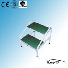 Epoxy beschichtete Stahl Doppelstufen Fußschemel (Y-12)
