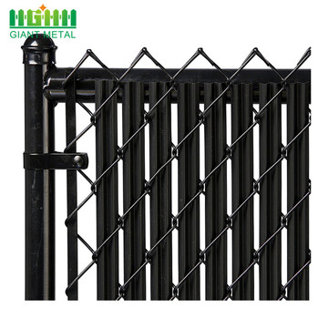 PVC Coated Black Cheap Fence Chain Link Fence