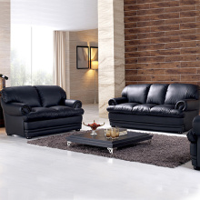 Sofa 3-Pieces Leather Cushions Combined Sofa Set