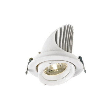 Downlight LED 38W blanc exquis