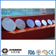 Círculo de aluminio de embutición profunda para decoración de iluminación