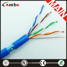 Copper conductor 4 Pairs waterproof cat5e ftp cable