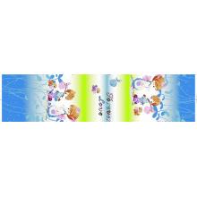 Tissu de coton de bonne qualité, pigment imprimé