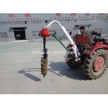 Cavador de agujero de poste de tractor de PTO de 3 puntos