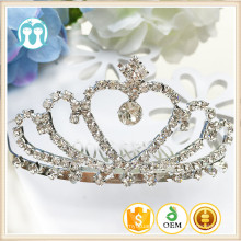 New Wholesale Kids Alloy Crown Girls Wedding Party Baby One Piece Children Hair Wearings For Decoration