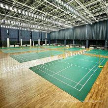 Revêtement de sol en PVC pour la cour de badminton