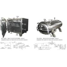 Stainless Steel Vegetable Vacuum Drying Machine
