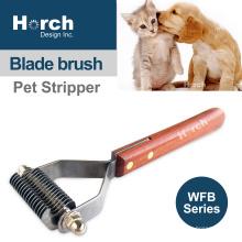 Pet Comb Open Knot Rake Stripper Knife Dog Dematting Razors