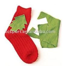 Детские новогодние носки