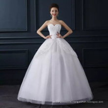 LSO014 sweetheart with flower pattern cheap wedding dresses gowns pictures cascade