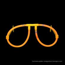 orange Glow Stick Glasses