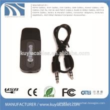 3,5-мм USB-адаптер беспроводной Bluetooth-адаптер для подключения музыкальных ресиверов