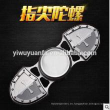 Popular Diseño Funny Toy Anti Stress Metal Fidget Hand Spinner