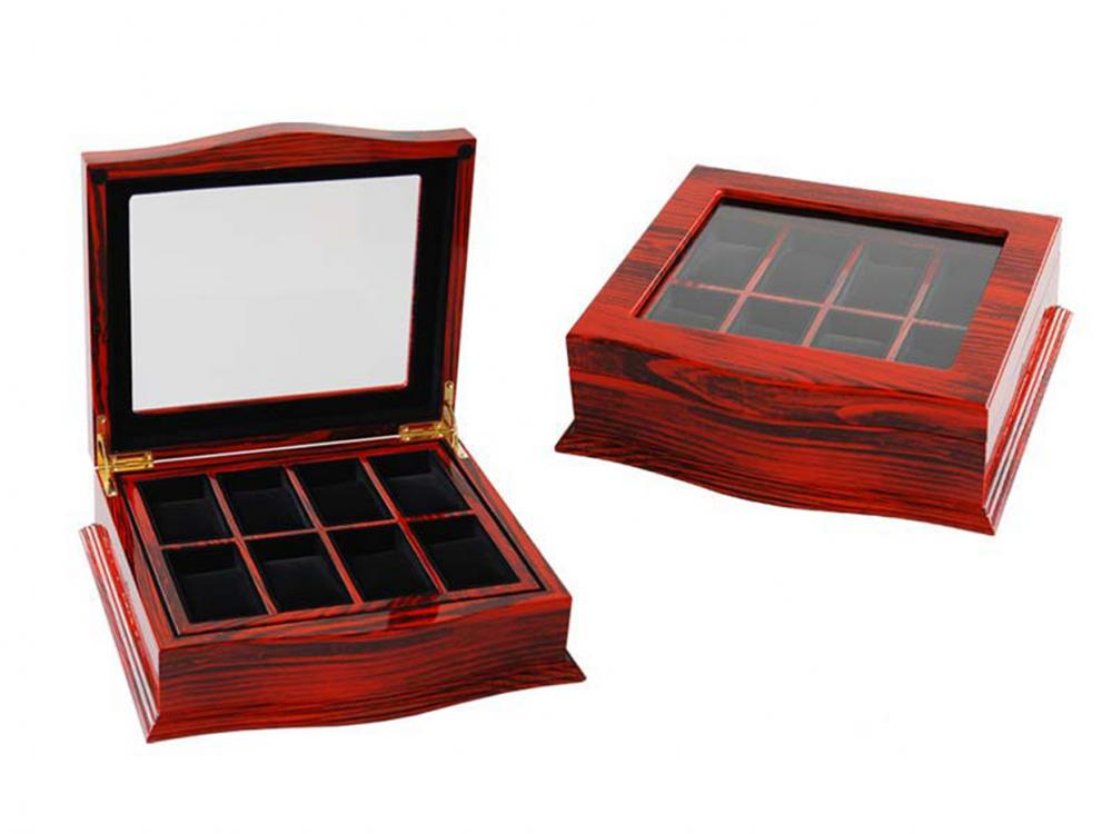 Wb 3039 Rosewood Watch Box Hold 8 Watches