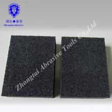 100 * 70 * 25mm niedrig Dichte Aluminiumoxid Schleifschwamm Block Korn P60