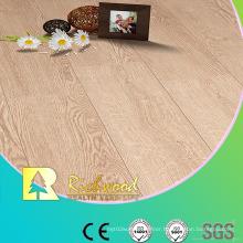 12.3mm Embossed Oak Waxed Edged V-Grooved Lamiante Floor