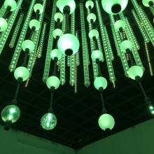 Многоцветная светодиодная трубка Освещение DMX 3D Вертикальная трубка