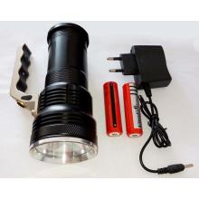 Lampe de poche rechargeable portable haute puissance portable
