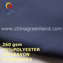 Polyester Rayon Spandex Fabric for Clothes Textile (GLLML444)