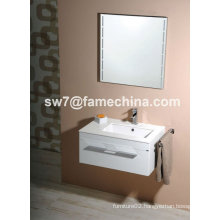 Towel Rack High Gloss Wall Mounted MDF Bathroom Cabinet