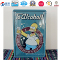 European Style Metal Tin Sign for Bar Wall Decoration
