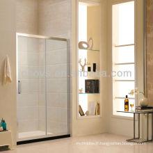 Porte de douche en verre sanitaire
