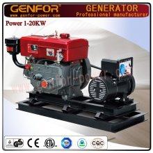 Générateur de générateur diesel Genfor Generator Set 5kw