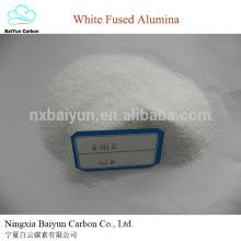 Materias primas abrasivas y refractarias de alúmina fundida blanca Óxido de aluminio blanco y corindón blanco