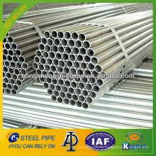 Tubo de acero al carbono galvanizado en caliente Q235