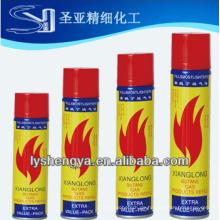 5X raffinierte Universal Butangas Refill / Power 5x Gas / 5x raffiniertes Gas für Feuerzeuge