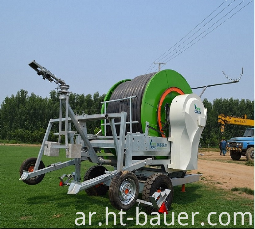 Hose Reel Irrigation Aquajet Ii 3g4