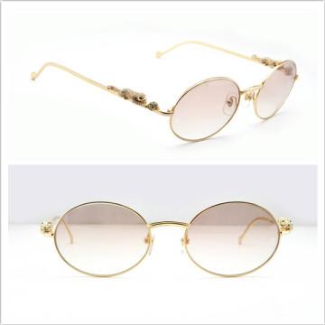 Óculos de sol de moda / Diamond Panthere Series Limited Sunglasses