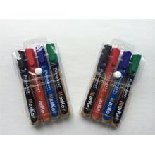Stylo de marquage permanent 4PCS PVC Pack Packing, Set de papeterie