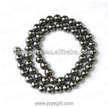 """7MM Loose Hematite Round Beads 16 """""""
