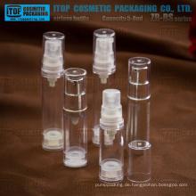 ZB-BS-Serie 5ml 8ml kleine Proben als / SAN Kunststoff airless Miniflaschen